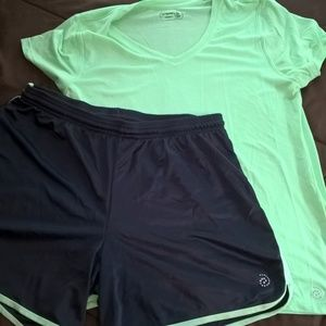 Be Inspired Shorts/Top Set - Size XL